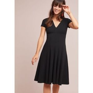 Anthropologie Maeve Lincoln Center Dress Black